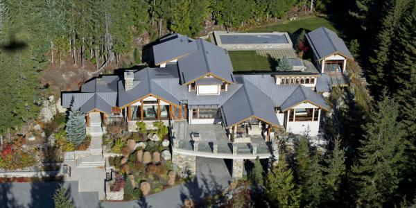 Belmont Estate Whistler Aerial