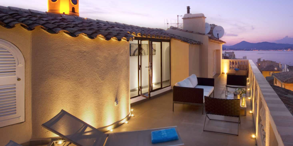Terrace 2 - Luxury Apartment Les Remparts de St Tropez