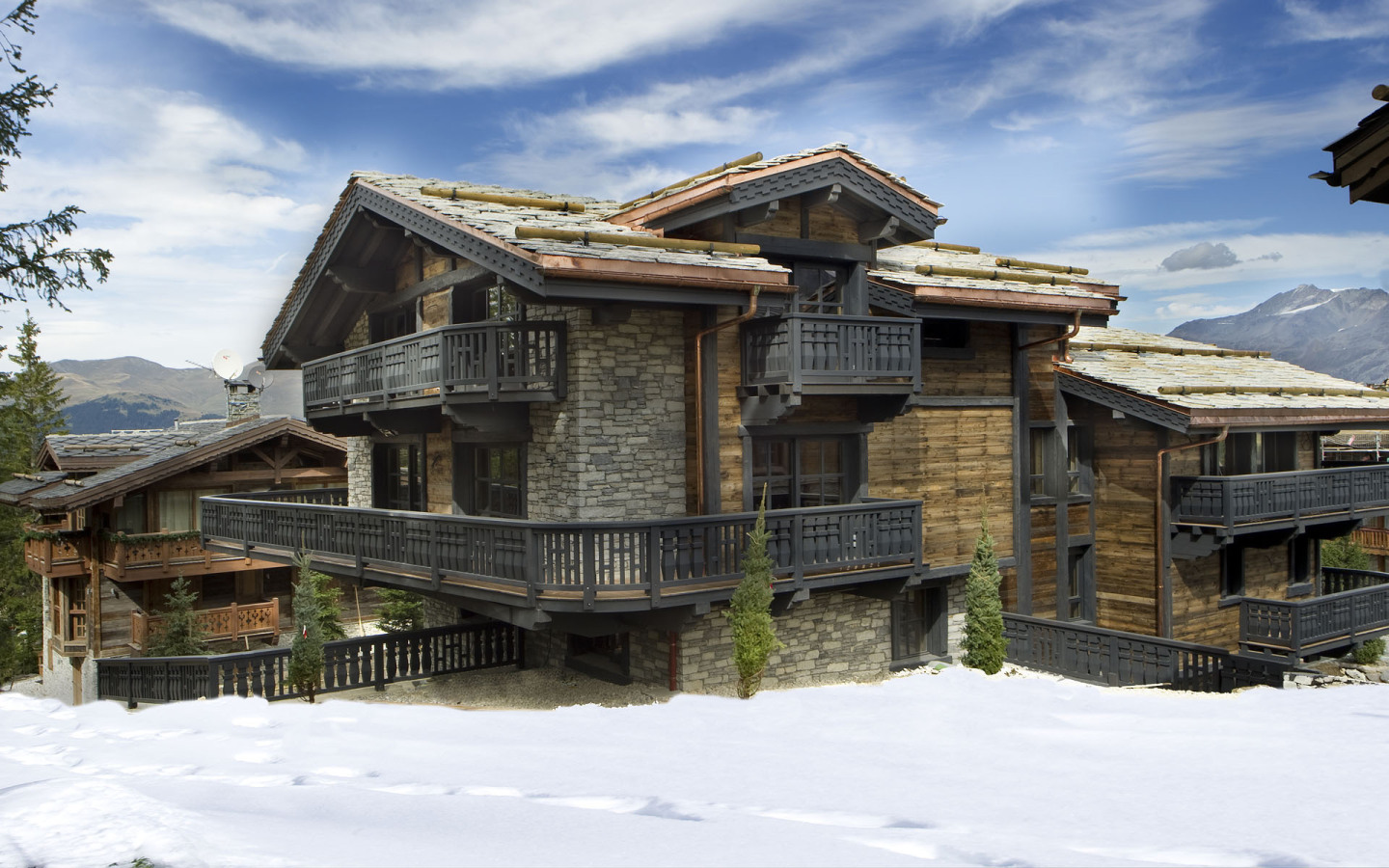 Luxury Chalet Courchevel 1850 France -Edelweiss 1