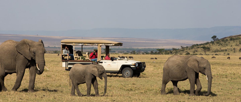 Mahali Mzuri Game Viewing Safari in Kenya
