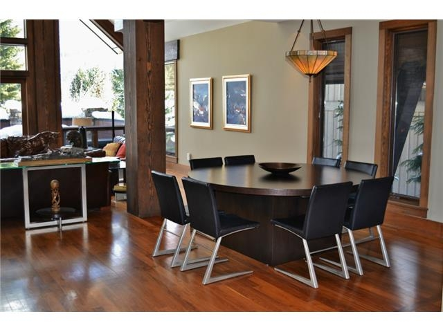 Open layout dining room - Luxury 6 bedroom chalet in Whistler