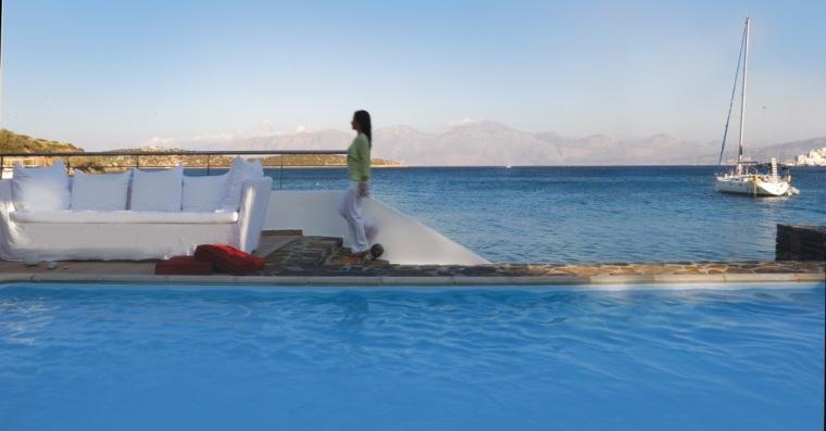 Minos Beach Art Hotel Presidential Villa Suite exterior