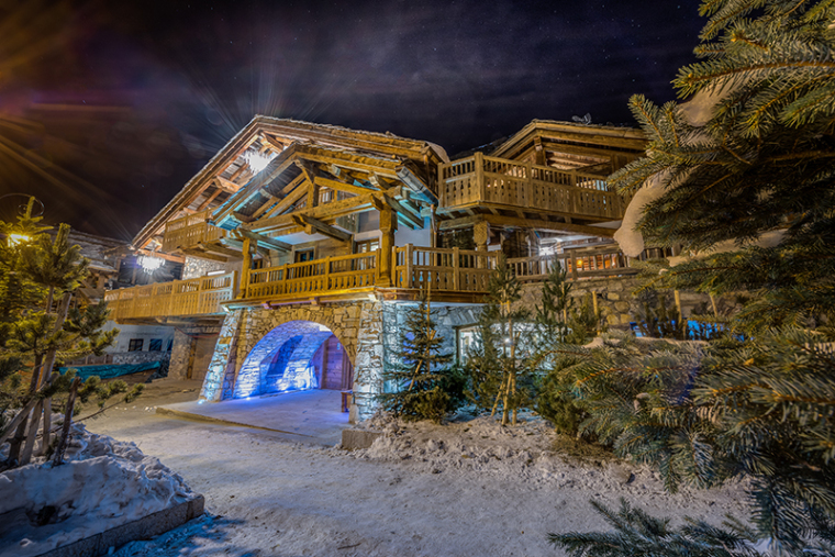 Marco Polo Val d\'Isère über luxury Chalet