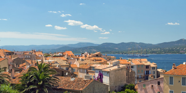St Tropez panorama